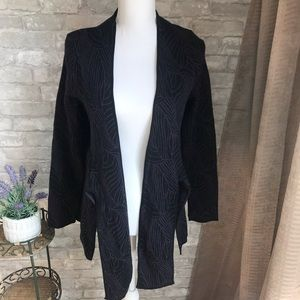 Black and Purple Cardigan